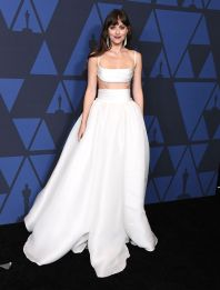 Dakota Johnson in Brandon Maxwell