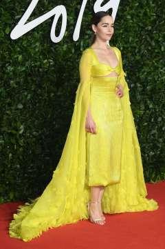 Emilia Clarke in Schiaparelli Fall 2019 Couture-2