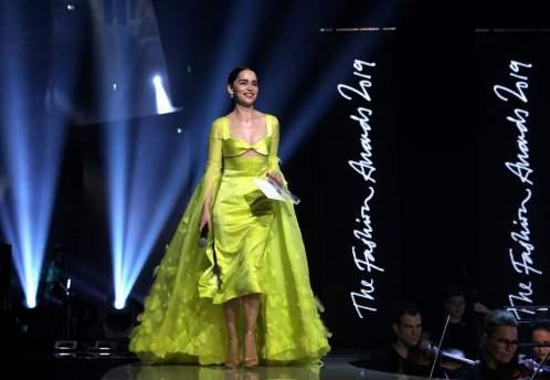 Emilia Clarke in Schiaparelli Fall 2019 Couture-5