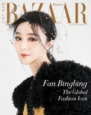 Fan Bingbing for Harper's Bazaar Vietnam January 2020 Cover B
