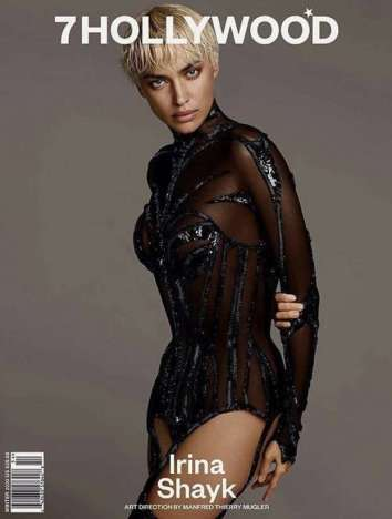 Irina Shayk 7Hollywood Magazine Winter 2020 Cover B