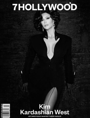 Kim Kardashian West 7HOLLYWOOD Winter 2020-4