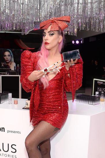 Ladu Gaga in Christian Cowan Spring 2020-12