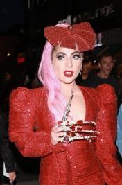 Ladu Gaga in Christian Cowan Spring 2020-3