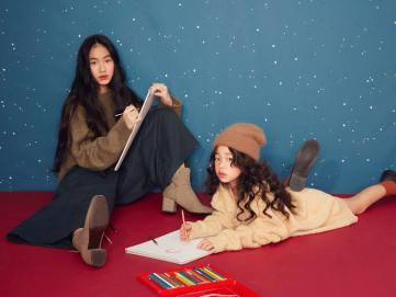 Lily Hsu and Alice Hsu for Genquo 2019 Holiday Campaign-17
