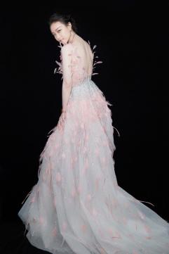 Ni Ni in Georges Hobeika Fall 2019 Couture-11
