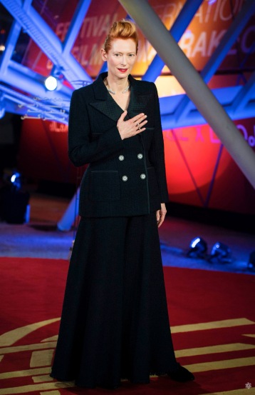 Tilda Swinton in Chanel Fall 2019 Couture