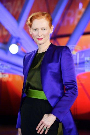 Tilda Swinton in Haider Ackermann-1