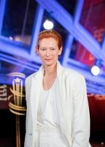 Tilda Swinton in Haider Ackermann Spring 2020-1