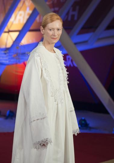 Tilda Swinton in Loewe Spring 2020-10
