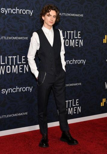 Timothée Chalamet in Alexander McQueen Spring 2020 Menswear-3