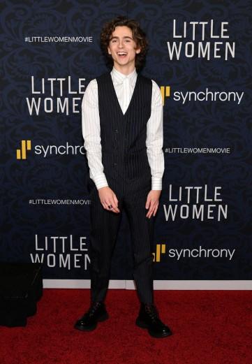 Timothée Chalamet in Alexander McQueen Spring 2020 Menswear-4