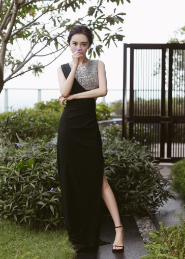 Yang Mi in Celine-1