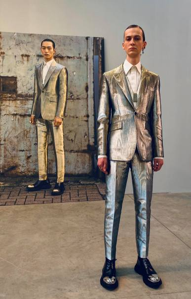 Alexander McQueen Fall 2020 Menswear Showroom-3