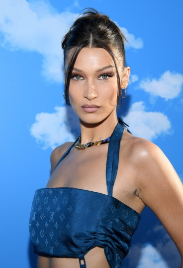 Bella Hadid in Louis Vuitton Fall 2019 Menswear-3