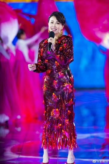 Carina Lau in Versace Spring 2020-2
