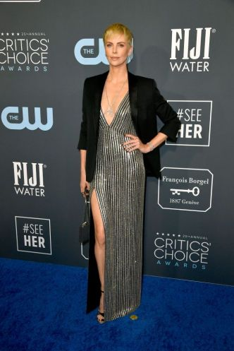 Charlize Theron in Celine