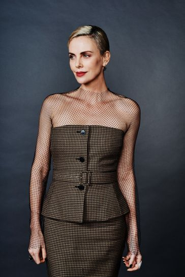 Charlize Theron in Dior Pre-Fall 2020-14
