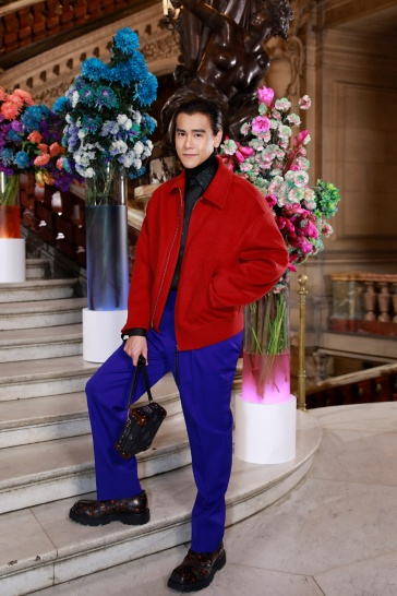 Eddie Peng in Berluti Fall 2020 Menswear-2