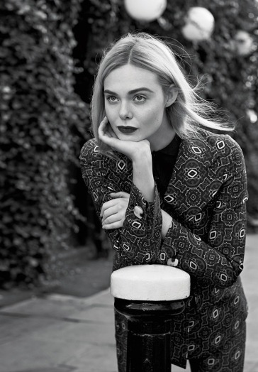 Elle Fanning for Marie Claire US February 2020-5