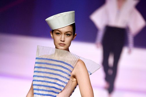 Gigi Hadid for Jean Paul Gaultier Spring 2020 Couture -4