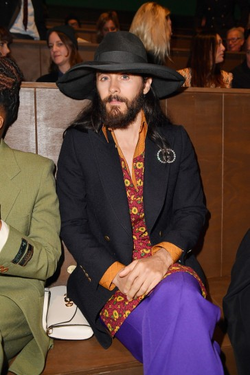 Jared Leto in Gucci Spring 2020-8