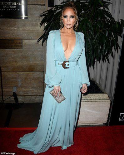 Jennifer Lopez in Elie Saab Spring 2020-2