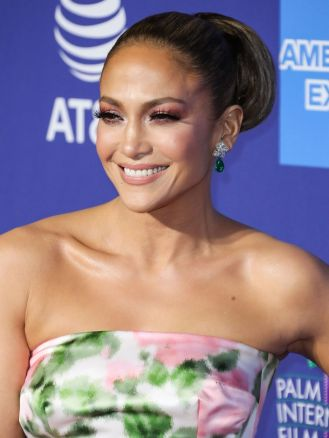 Jennifer Lopez in Richard Quinn Spring 2020-10