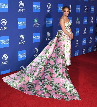 Jennifer Lopez in Richard Quinn Spring 2020-11