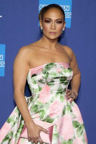 Jennifer Lopez in Richard Quinn Spring 2020-2