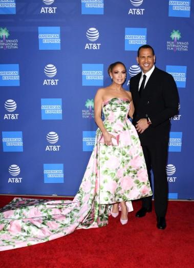 Jennifer Lopez in Richard Quinn Spring 2020-6