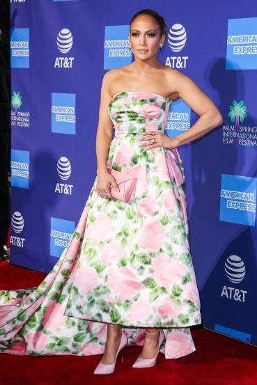 Jennifer Lopez in Richard Quinn Spring 2020-7