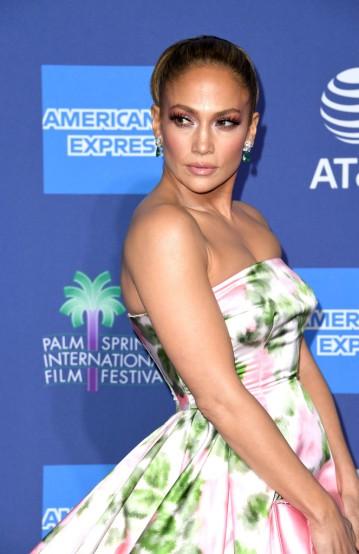 Jennifer Lopez in Richard Quinn Spring 2020-8