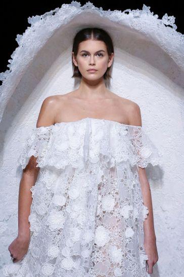 Kaia Gerber X Givenchy Spring 2020 Couture-3