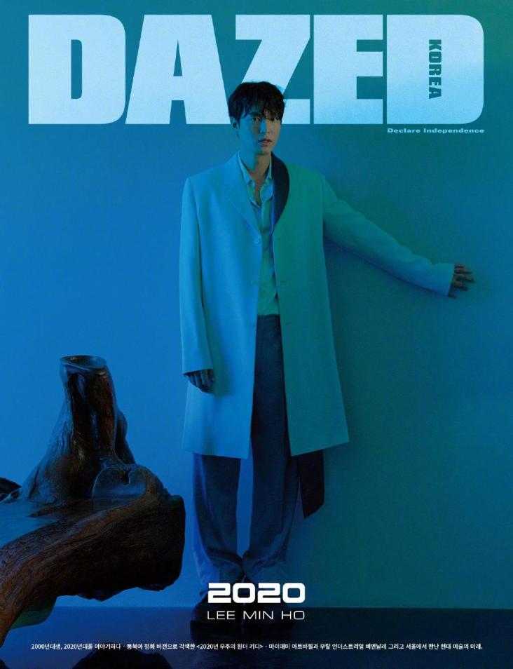 Lee Min Ho for Dazed Korea January 2020 Cover A