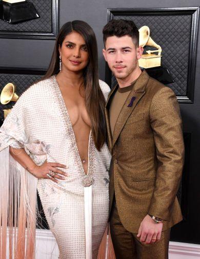 Nick Jonas and Priyanka Chopra in Ralph & Russo Spring 2018 Couture-3