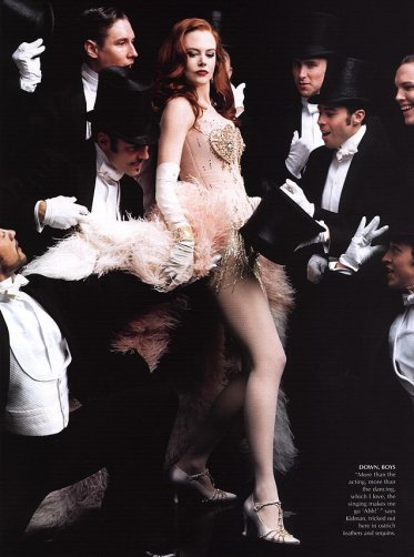Nicole Kidman for Vogue December 2000-2