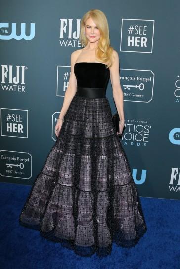 Nicole Kidman in Armani Privé Fall 2019 Couture