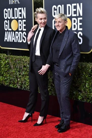 Portia de Rossi and Ellen DeGeneres-2