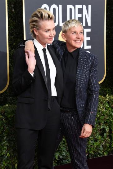Portia de Rossi and Ellen DeGeneres-3