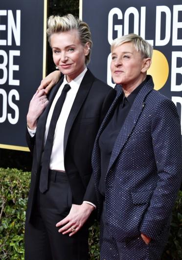 Portia de Rossi and Ellen DeGeneres-5