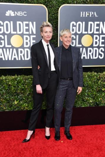Portia de Rossi and Ellen DeGeneres-6