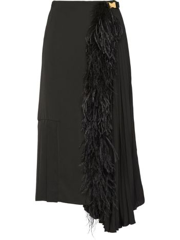 Prada Feather Skirt