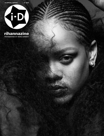 Rihanna i-D Magazine January 2020 Cover B
