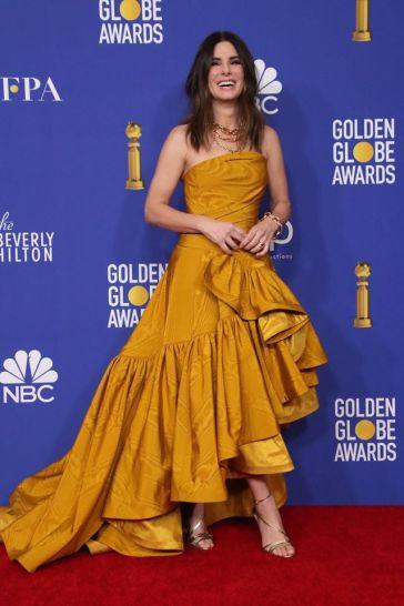 Sandra Bullock in Oscar de la Renta-2