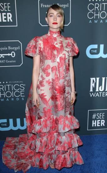 Saoirse Ronan in Erdem Spring 2020-3