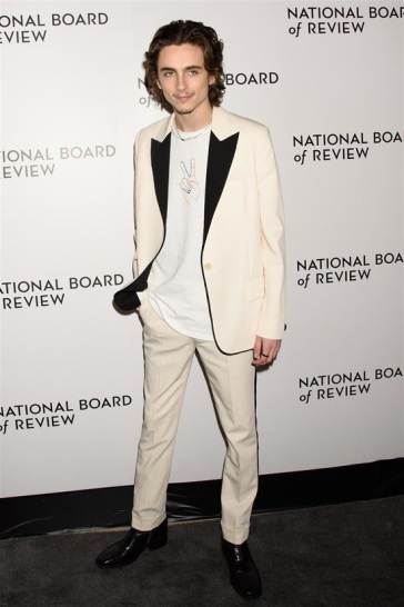Timothee Chalamet in Stella McCartney Pre-Fall 2019-6