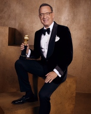 Tom Hanks, Cecil B. deMille Award recipient, 2020