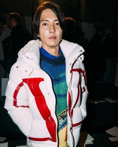 Tomohisa Yamashita in Valentino Spring 2020 Menswear-8