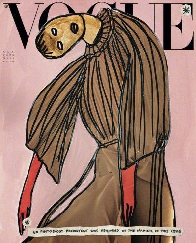 Vogue Italia January 2020 Cover D